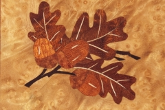 Graham Rayner - Marquetry Panel